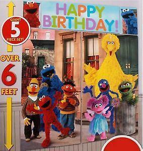 Sesame Street Wall Decor