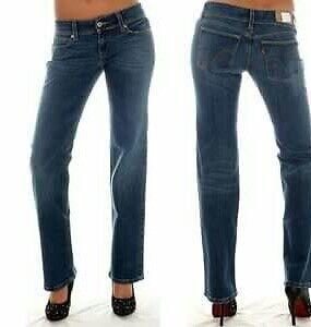 Jeans Donna 570 Levi's Standard W30 L34