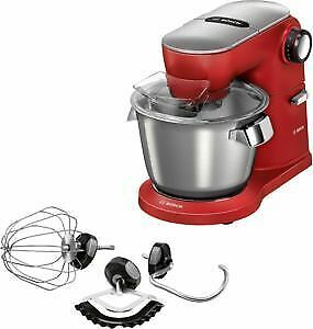 Bosch MUM9A66R00 OptiMUM Küchenmaschine 5,5 l Rot, Silber