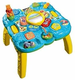 VTech winnie the pooh baby activity table