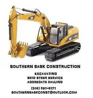S.S.C - Excavating, skid steer service and landscaping