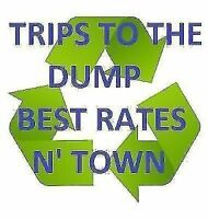 **DUMP RUNS** YARD CLEANING GARBAGE REMOVAL *BEST RATES IN TOWN*
