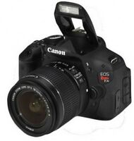 Canon EOS Rebel T3i with EF-S 18-55mm IS II Lens kit