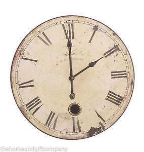 large pendulum wall clock