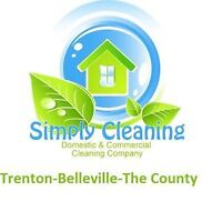 """""""SIMPLY CLEANING"""" THE ORIGINAL AFFORDABLE & RELIABLE CLEANING"""