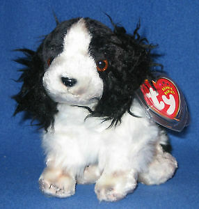 Frolic the dog Ty Beanie Baby stuffed animal