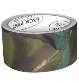 Jack Pyke Tough Tape English Woodland Camo Hunting Sports Outdoor Pursuits
