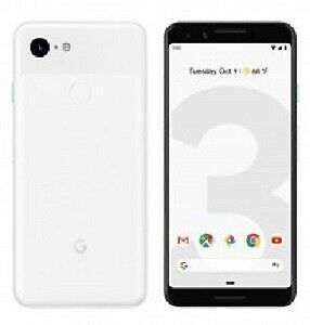 Google Pixel 3 XL Clearly White 128Gb Brand New in Box Sealed
