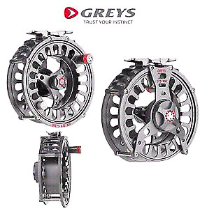 Grey's GTS 800 fly fishing reel with line