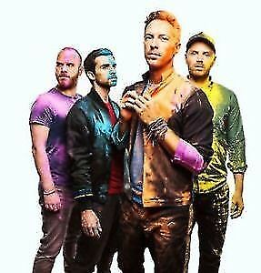 Cold Play Concert Tickets September 27th 2017