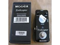 Mooer Trelicopter Optical Tremolo trem guitar effects pedal