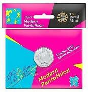 Olympic 50p Modern Pentathlon