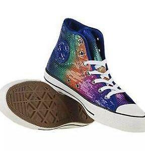 89d9555dbe54d2 Sequin Converse  Clothing