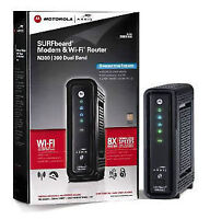motorola N300 SURFboard Cable Modem & Wi-Fi Router