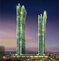 Brand New!! 2 Bed + Den Emerald Park Condos (Younge & Sheppard)