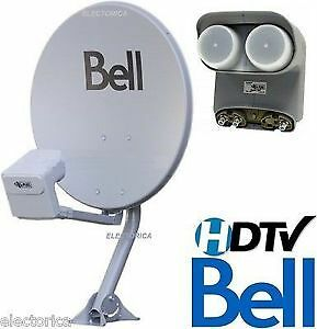 Bell Dish with DP plus (Dish Pro Plus Quad LNBF)  New Type