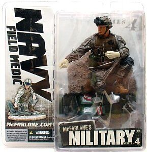 "McFarlane Toys 6"" Military Series 4 - Field Medic"