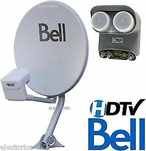 Bell satellite TV Dishes  LNB's & Receivers
