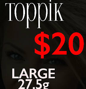 $20 Toppik Hair Fibers! Hair Loss Hair Thickening! Instant!