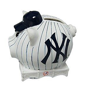 New York Yankees Small Thematic Piggy Bank
