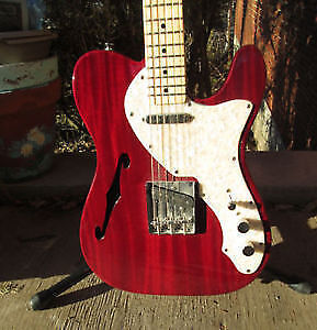 Squire Classic Vibe Thinline Semi Hollow Electric Guitar
