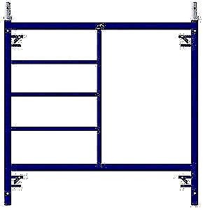 New 5' x 5' end frame Section  $180