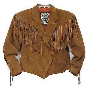 03069a14dafb Suede Fringe Vintage Jacket
