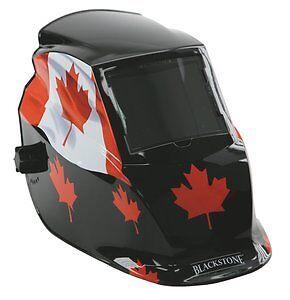 NEW Blackstone Welding Helmet - Canada Flag