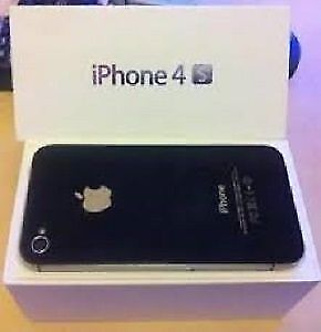 16 GB iPhone 4s Black, brand new, Unlocked