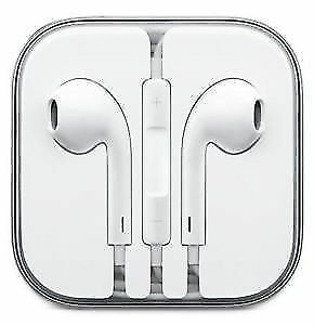 APPLE HEADPHONES: APPLE EARPODS WITH REMOTE AND MIC DESCRIPTION