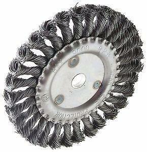 "New Billy Goat Little Wonder Landshark 8 inch 8"" "" Wire Wheels for Walk Behind Asphalt Crack Cleaners Router Grazor"