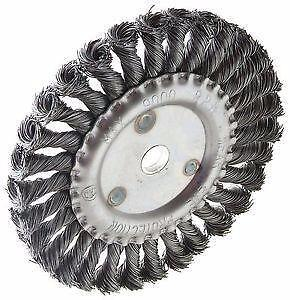 New Billy Goat Little Wonder Landshark 8 inch 8  Wire Wheels for Walk Behind Asphalt Crack Cleaners Router Grazor