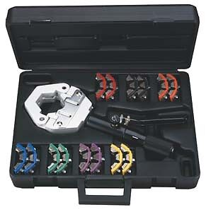 Mastercool Hydra Krimp Deluxe AC Crimper Kit