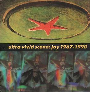 ULTRA VIVID SCENE joy 1967-1990 LP 12 track with inner and fold out insert but s