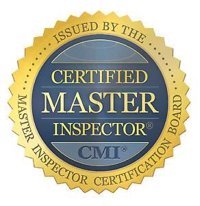 Vandermeer Home Inspections.  Certified Master Inspector