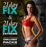 21 Day Fix Régulier ----21 Day Extreme +calendriers et guides