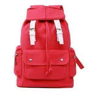 cf8081ea32 Korean Canvas Backpacks