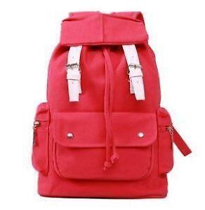 e6e4670c3a Korean Canvas Backpacks