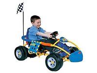 Children's race car