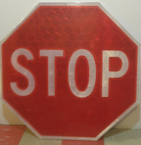 Reflective Stop Sign for Sale