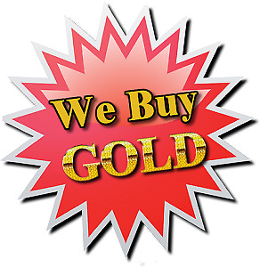 YES WE BUY GOLD  FOR CASH