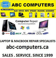 COMPUTER REPAIR SERVICE: ALL MACBOOKS / IMAC/ LAPTOPS AND PC