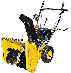 SNOW  BLOWERS BRAND NEW 6.5HP 2 stage snow blower