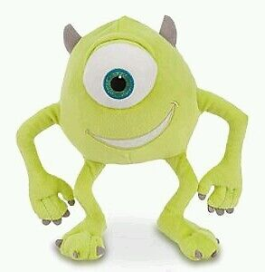 Monsters Inc. University Plush Mike Wazowski 8 inches head to foot New soft toy