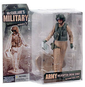 "McFarlane Toys 6"" Military Series 3 - Army Helicopter Crew Chief"