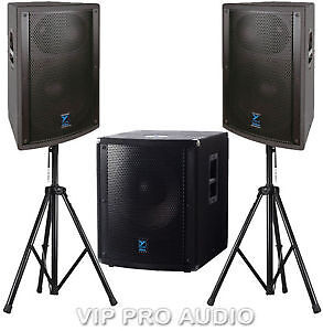 Complete DJ Package with Laptop and Active speakers,Sub, MORE
