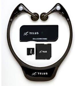 Telus BTS500 Stereo Bluetooth Wireless Headphones w/1 GB SD