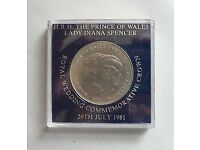 The Royal Wedding Coin - Prince Charles & Lady Diana - July 29th 1981