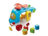 Vtech Sort and Spin Helicopter with Sounds and Lights