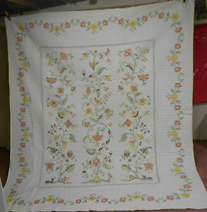 """Embroided Quilt """"Tree of Life"""" London Ontario image 2"""